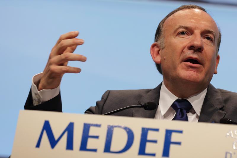 Pierre Gattaz, el presidente del MEDEF.