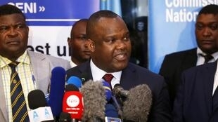 Presidente da Comissão eleitoral e membros do organismo que adiaram eleições para março nalgumas regiões da RDC