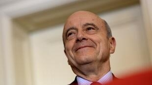 Alain Juppé who won't, now, be standing for the ruling party in the forthcoming European elections.