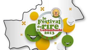 L'affiche du festival international du rire de Lubumbashi.