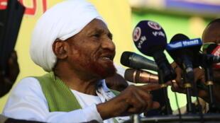 Aliyewahi kuwa waziri mkuu wa Sudan, Sadeq al-Mahdi, ambaye amefariki kwa ugonjwa wa Covid 19
