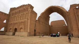 Irak - Ctésiphon - arche Tigre - AFP 000_Nic6216277