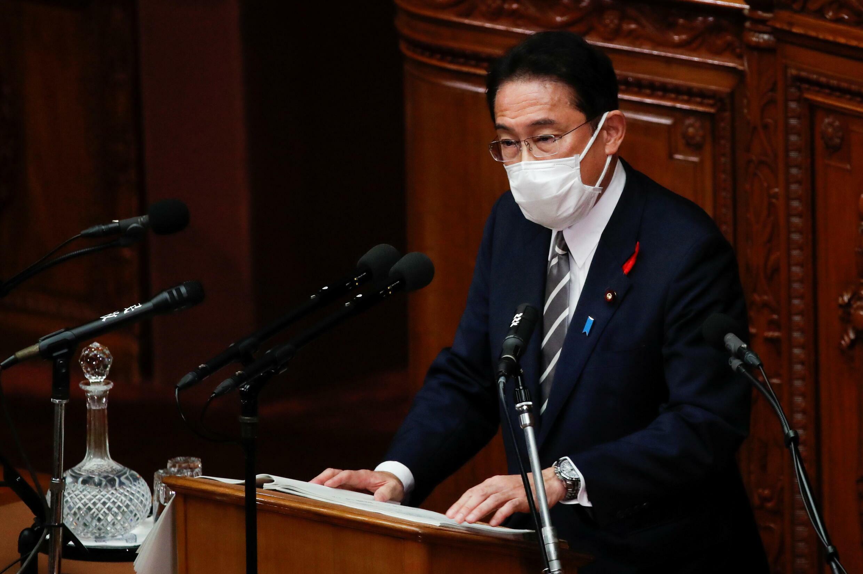 日本首相岸田文雄資料圖片