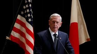 کنفرانس خبری ژنرال  Jim Mattis  وزیر دفاع آمریکا در سفرش به ژاپن. ۱۶ بهمن/ ٤ فوریه ٢٠۱٧