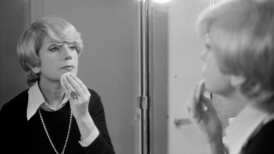 Françoise Dorin tại nhà hát Théâtre Antoine, ảnh chụp tháng 10/1974