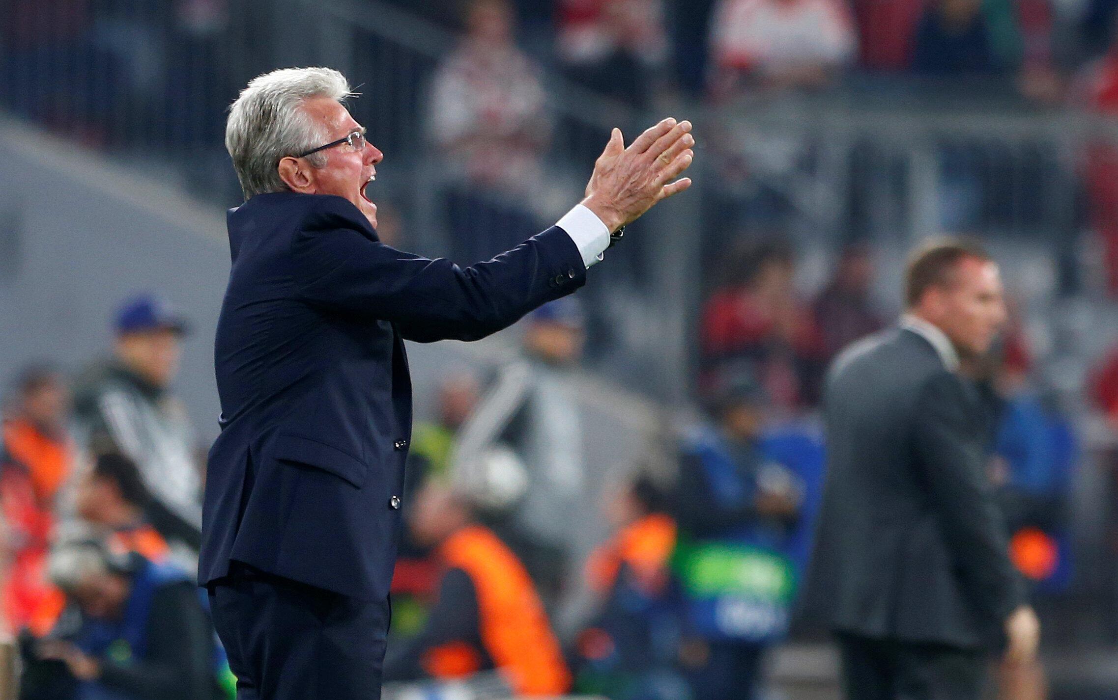 Jupp Heynckes, entraîneur du Bayern Munich.