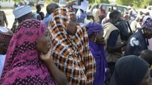 Wasu iyayen 'Yan matan garin Chibok da aka sace a cikin  Jihar Borno a Najeriya