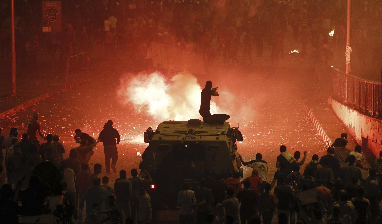 Bạo lực đẫm máu lại bùng lên ở Ai Cập từ hôm 6/10/2013.