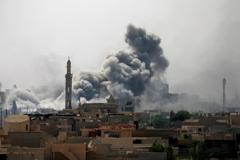 Makabiliano katika mji wa Mosul nchini Iraq