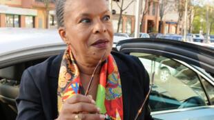 Christiane Taubira, ancienne ministre française de la Justice.