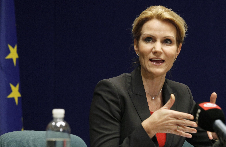 Thủ tướng Đan Mạch Helle Thorning-Schmidt - REUTERS /Sebastien Pirlet