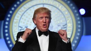 دونالد ترامپ رییس جمهوری آمریکا