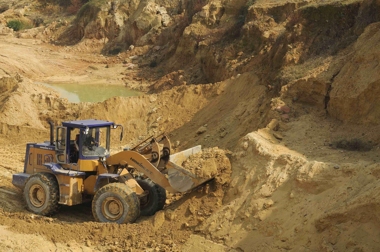 Mine de terres rares de Nanchang dans la province du Jiangxi (sud-est de la Chine).