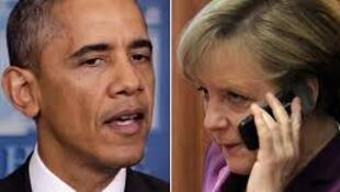 Barack Obama e Angela Merkel tinham relações diplomáticos estáveis até o escândalo de espionagem.