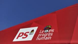 El emblema del Partido Socialista francés.