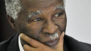 Sudan mediator and former South African president Thabo Mbeki