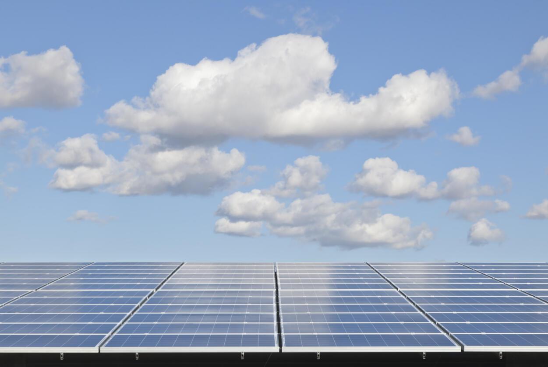 Des panneaux solaires. (Image d'illustration)
