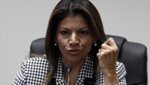 Laura Chinchilla, la presidenta de Costa Rica.