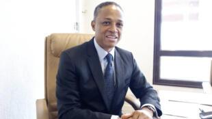 Franck Nguema, ministre délégué auprès du Premier ministre, chargé des Forêts, de l'Environnement et du Plan climat