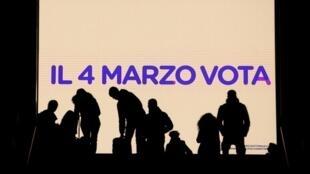 Les élections législatives en Italie auront lieu le 4 mars 2018.