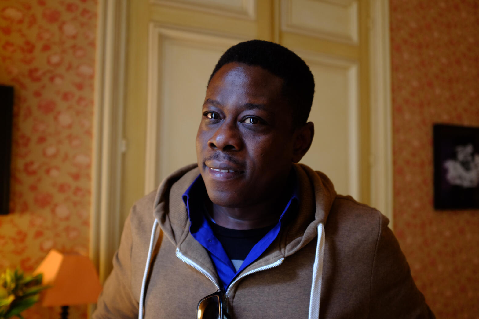 Walter « Walterbanger » Taylaur, réalisateur nigérian de « Gbomo Gbomo Express ».