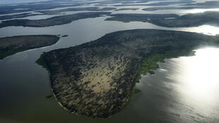 Ziwa Chad katika mkoa wa Bol, mji mkuu wa Jimbo la Ziwa.