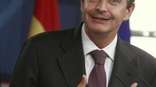 El presidente del Gobierno español José Luis Rodríguez Zapatero.