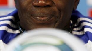 L'entraîneur sénégalais du Tout Puissant Mazembe, Lamine N'Diaye.