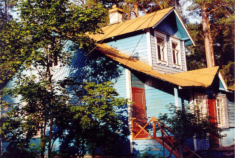 Une datcha près de Saint-Petersbourg.