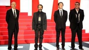 El Director Felipe Cazals y los actores Damián Alcázar, Juan Manuel Bernal y Daniel Martínez han presentado la película que inaugura el Festival.