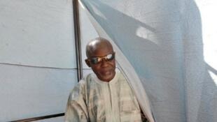 L'opposant Ousseynou Darboe, ici en novembre 2011.