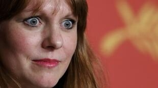 Maren Ade, réalisatrice allemande de « Toni Erdmann », au Festival de Cannes.