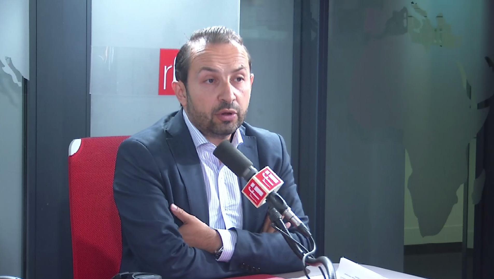 Sébastien Chenu sur RFI le 8 juillet 2019.