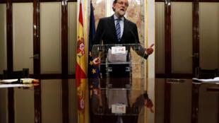 Mariano Rajoy, anuncia que deixa a presidência do PP, depois da queda do seu governo