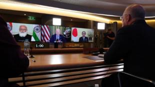 美日印澳四国领导人资料图片