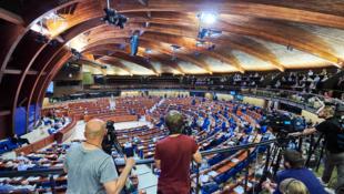 Зал заседаний ПАСЕ в Страсбурге