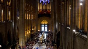 Archivo: ceremonia en Notre-Dame en 2013.
