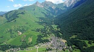Le parc de loisirs Ludopia est situé dans la Vallée d'Aspe, dans les Pyrénées.