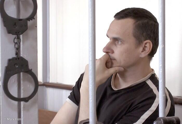 Кадр из фильма  «Процесс: Российское государство против Олега Сенцова»