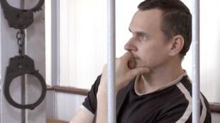 Oleg Sentsov na prisão em Fevereiro 2017