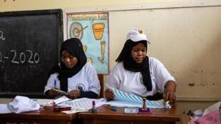 Un bureau de vote à Zanzibar, en Tanzanie, le 28 octobre 2020.