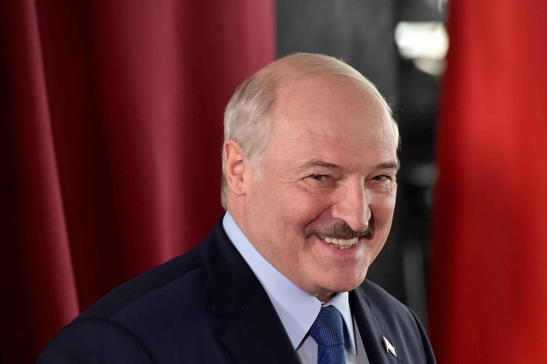Alexander Lukashenko, Presidente da Bielorrússia.