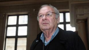 Le dessinateur Maurice Sinet, dit Siné, ici en 2009, est mort le 5 mai 2016, à l'âge de 87 ans.