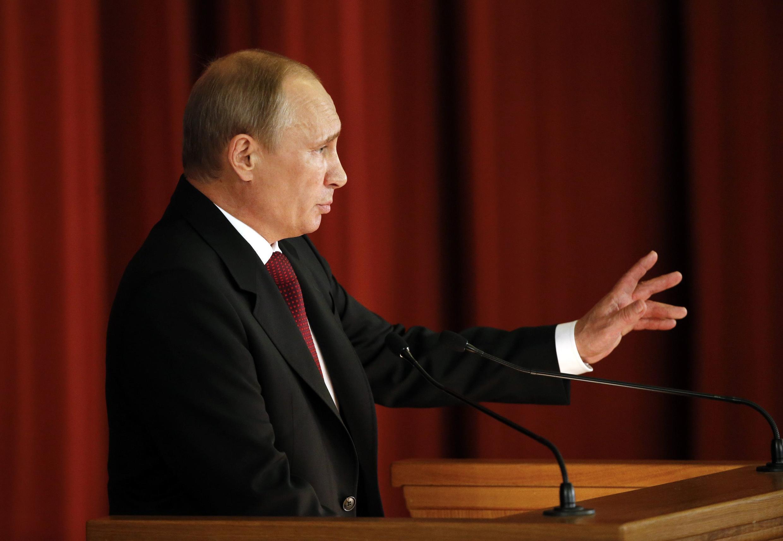 Владимир Путин в МИДе, 1 июля 2014 г.