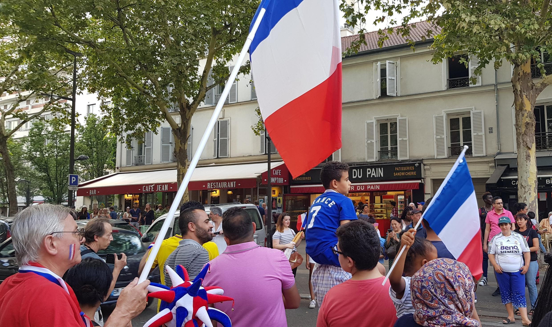 Вечер победы в Париже