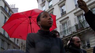 Marie Ndiaye, le 2 novembre 2009.