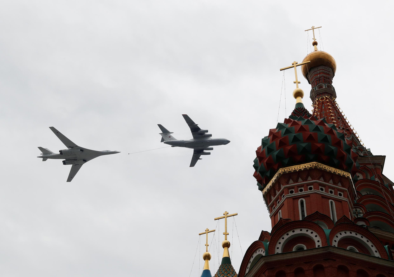 4мая в Москве прошла репетиция авиапарада ко Дню Победы.