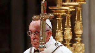 El Papa Francisco durante la misa de la Epifanía, 6 de enero, 2019.