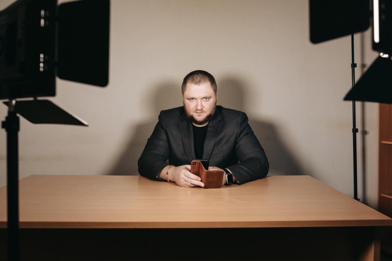 Основатель паблика «Омбудсмен полиции» Владимир Воронцов