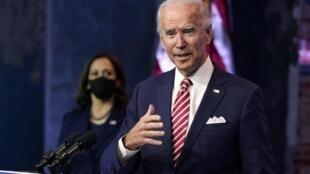 Shugaban kasar Amurka mai jiran gado Joe Biden.